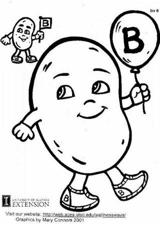 Vit B Cartoon