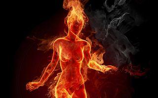 Girl-in-fire
