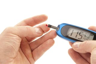 Diabetes finger poke