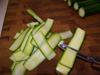 Zucchini Thin Slices