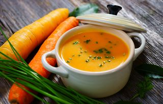 Carrot-Ginger-Soup-with-Coconut-Milk-the-barefoot-cook