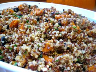 Peruvian Quinoa Pilaf